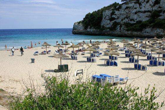 Mallorca Karte Strände.Mallorca Strand Cala Romantica