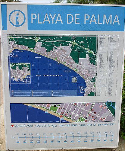 Reisefuhrer Mallorca Playa De Palma
